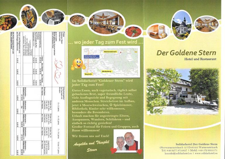 Folder Solidarhotel Der Goldene-Stern | Seite 2