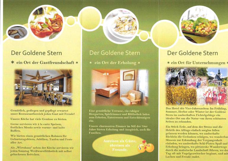 Folder Solidarhotel Der Goldene-Stern | Seite 1